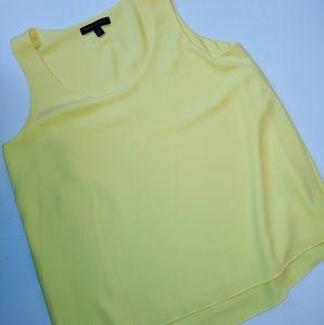 Banana Republic Yellow Polyester Tank S